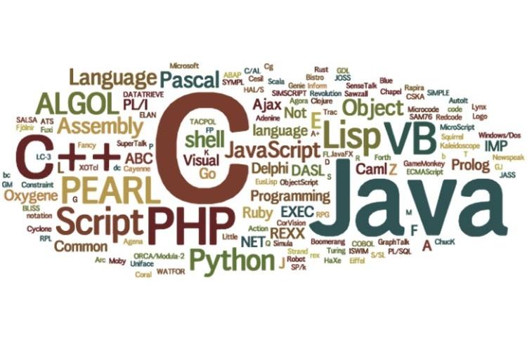 زبان های برنامه نویسی محبوب